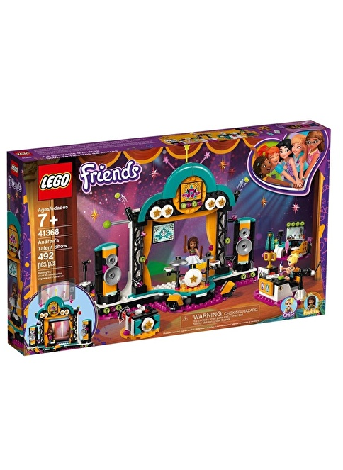 Lego LEGO Friends Andreas Talent Show Renkli